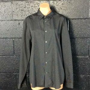 Calvin Klein Black Stripe Button Down Shirt